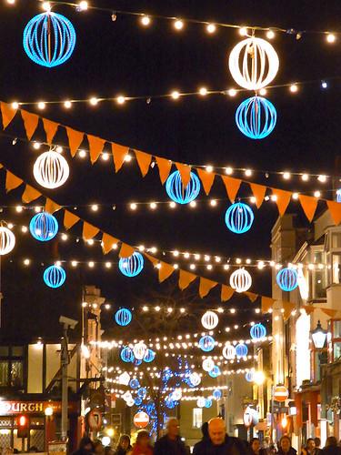 North Laine Christmas lights