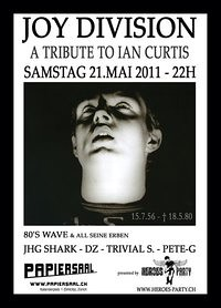 Events in Zürich: 21.05.2011 - Joy Division - A Tribute to.. Ian Curtis