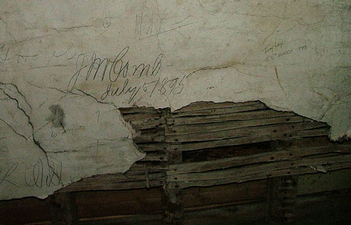 Grafitti in the Attic - written 114 years & 8 days ago!