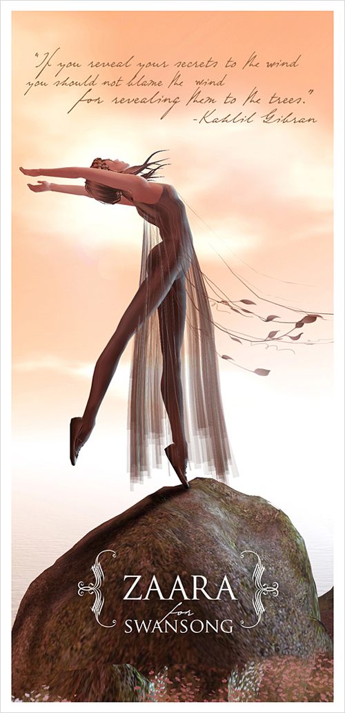 Zaara : Vayu for Swansong ad