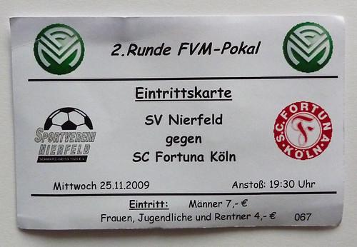 SV Nierfeld - Fortuna Köln