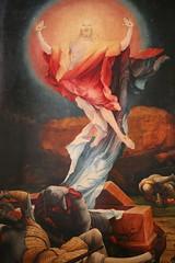 """Alsace, Haut-Rhin, Colmar, Musée d'UnterLinden : Mathias Grünewald, """" retable d'Issenheim : La Résurrection """" by Vincent Desjardins"""