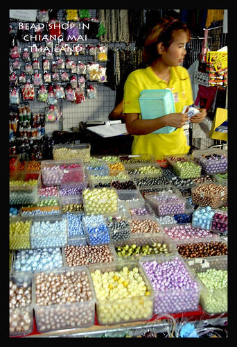BEAD SHOP IN CHIANG MAI THAILAND 2008 by you.