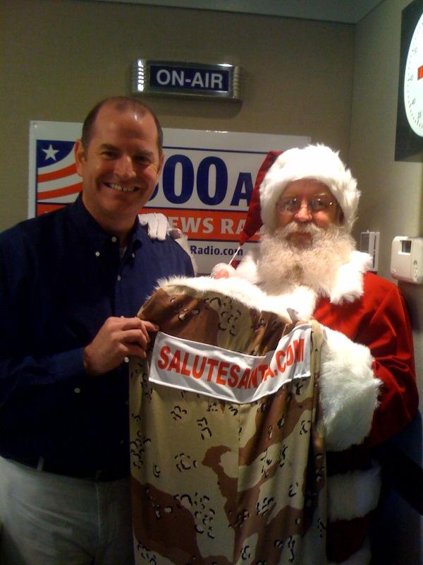 Santa and the DorobekInsider