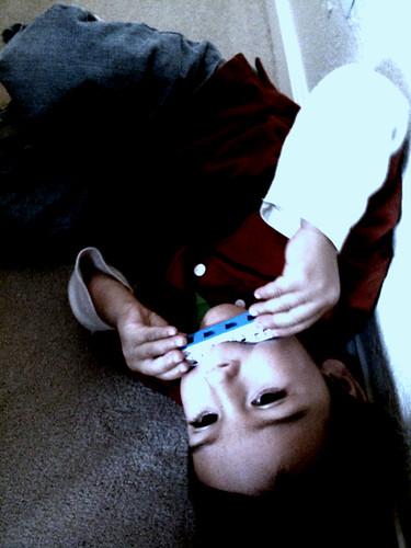 Mason on harmonica