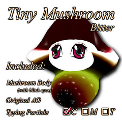 Tiny Mushroom (Bitter)