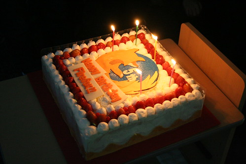 5 Years of Firefox Cake at Japan Developer Day