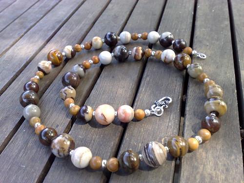 Jupiter jasper necklace