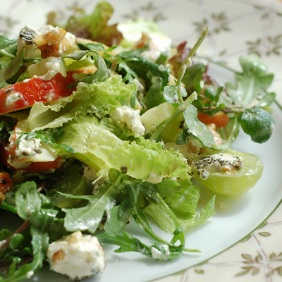 Waldorf Salad by Suzana of Home Gourmets.