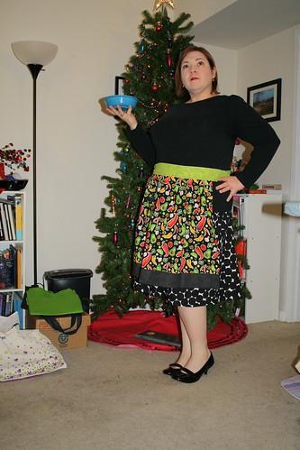Modeling Mindy's Apron