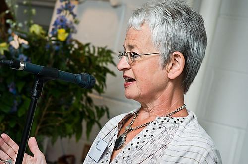 Jacqueline Wilson at the Branford Boase 2009
