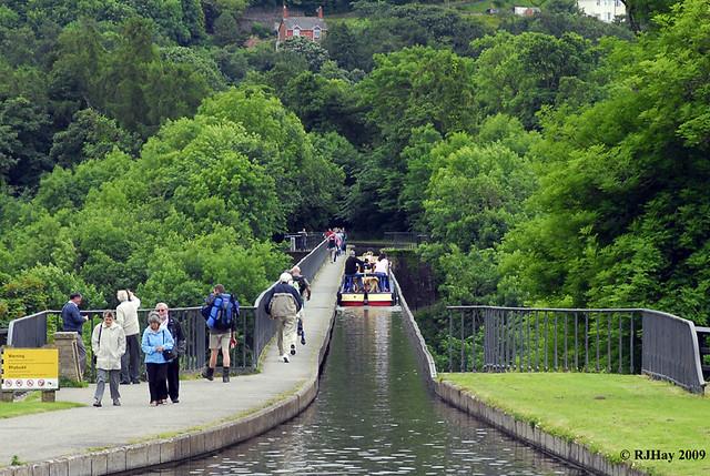 Llangollen Canal over Pontcysyllte Aqueduct