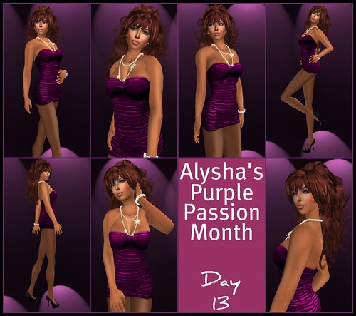 ALY'S PURPLE PASSION MONTH:  DAY 13
