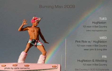 my Burning Man 09 schedule