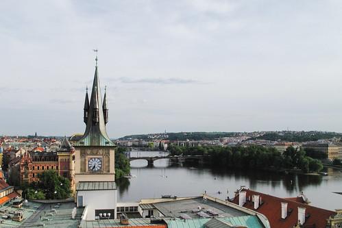 Vltava River by you.
