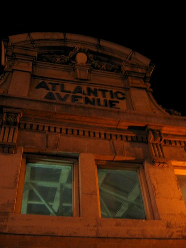 Atlantic Avenue, old entrance to the station.