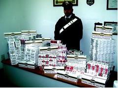 cc vibo valentia sequestro sigarette