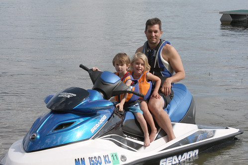 Sea Doo Ride - Sean, Sophia & Will