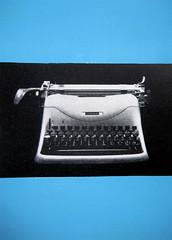 Ing. C. Olivetti & C. - Ivrea: Up.: Olivetti; Ar.: F. Bassi; Tp.: Lucini, Milano, da Pubblicità in Italia 1954 - 1956, Editrice l'uffico moderno, Milano, p. 127, (part.)