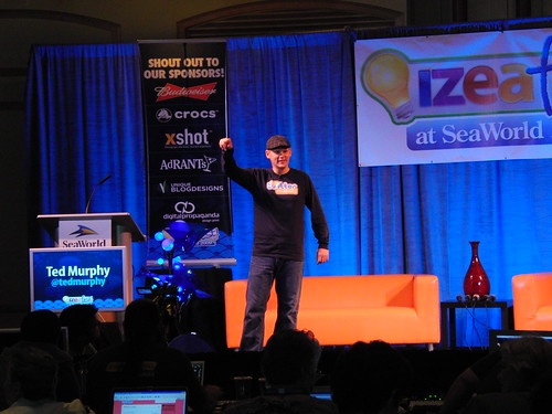 Ted Murphy at IZEAfest 2009