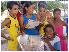 Crianças do PETI participarão de oficinas de brinquedos e de leitura. Foto: Chico Santiago/Pref.Olinda