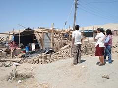Desolación tras el sismo