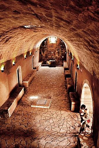 Room of Arkadi Monastery (Crete, Greece)