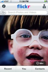 flickr iPhone App