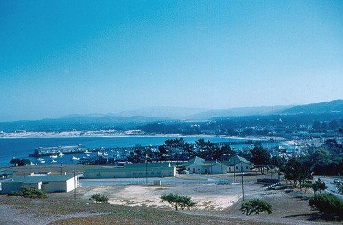 Monterey and Bay from Presidio (1958)