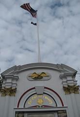Worlf War II Memorial & Flag