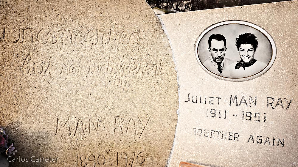 Cementerio de Montparnasse (Man Ray)