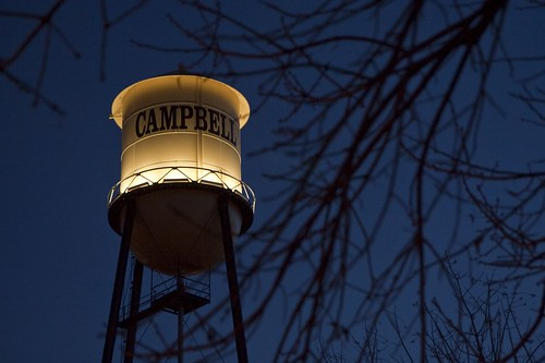 Campbell Water Tower 7349