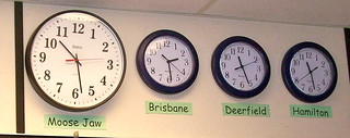 Clocks in Our Classroom