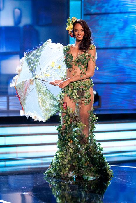 Traje Típico de Miss Mauricio
