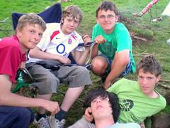 Richard, Sam, Steven, Andrew & Ben