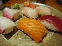 yakitori jinbei - sushi plate