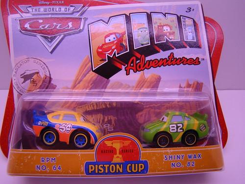 Disney CARS mini adventures shiny wax RPM64 (1)