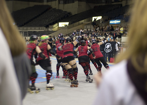 Naptown Roller Girls at Pepsi Coliseum