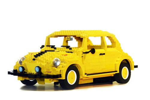 LEGO Transformers VW Beetle