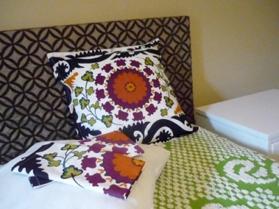 The Estate of Things DIY Suzani throw pillow