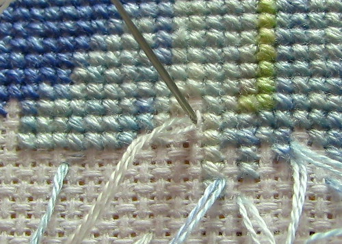Pin stitch end 2