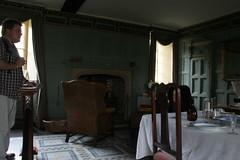 Darwins Room, Christs College, Cambridge, England