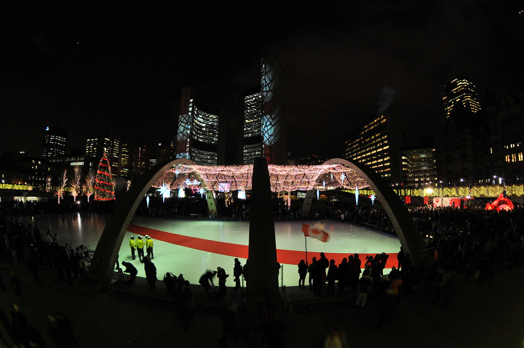 Olympic Torch in Toronto