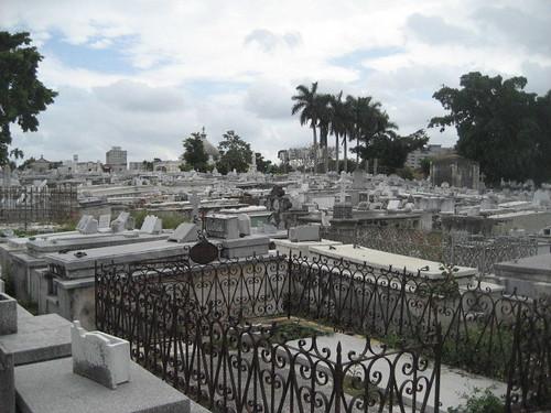 Cementerio Cristobal Colon en La Habana