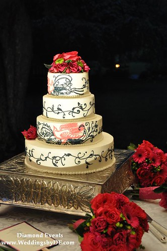 Wedding cake by Market Salamander