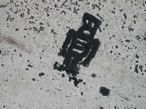 Stikman at P Street west of Dupont Circle