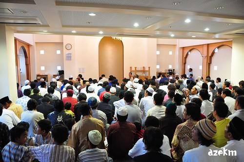 Takbir before Eid prayer