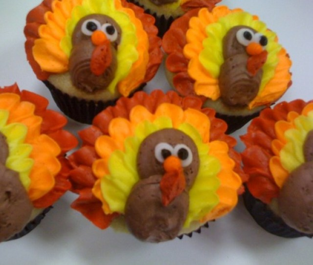 Thanksgiving Turkey Cupcakes And Many Other Holiday Flavors At Sweet Avenue Bake Shop