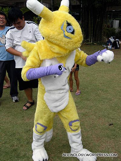 The rabbit in Digimon
