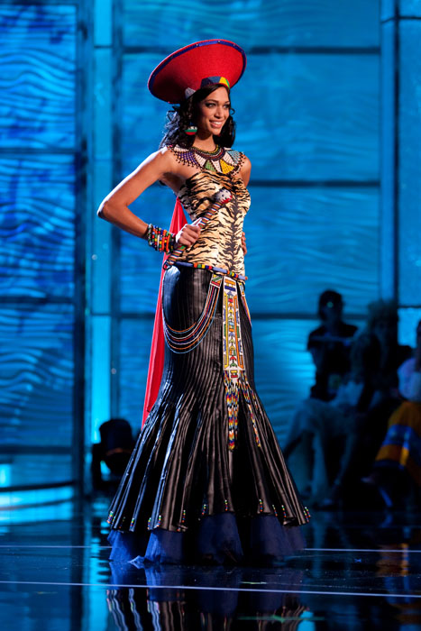 Traje Típico de Miss Sud África